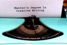 """Master Your Creative Writing / Master your own education and create steps towards your own """"degree"""".  This board is meant to improve your writing craft and NOT be an officially recognized """"degree""""."""