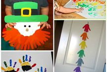 Saint Patrick's Day for Young Children / Craft and food ideas for young children for Saint Patrick's Day