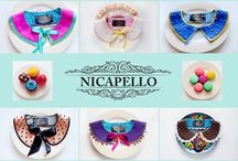Nicapello.. Candy collars. Summer 2013