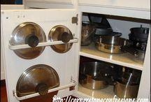 idee per organizzare la cucina