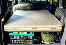 Auta vychytávky / Spací úprava v autě. #vestavba, #VW Caddy
