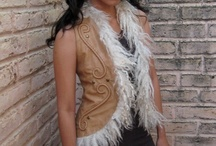 Winter wear: vests / Something to keep the body warm. I have in mind some mink like faux fur with quilted sari silk brocade