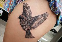 Bird tattoo <3