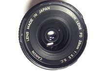 CANON FD 28mm F/3.5 S.C. MF