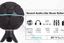 ZYLIA Portable Recording Studio / ZYLIA portable recording studio, music recording, one-mic-recording, multi track recording