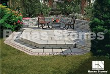 Banas Stones Pavers and Flagstones / Banas Stones® offers a complete collection of high quality natural stone pavers in 24 attractive colours and textures. Find these products at our store at 3500 Mavis Rd, Mississauga, ON L5C 1T8