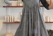 tuck smock dress