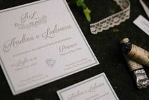 WEDDING STATIONERY / tipografia su misura per matrimoni