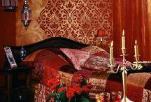 orientalny pokój
