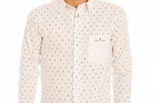 BLANCO el color del verano para Ellos / El blanco es el color tendencia este verano 2015. Estas son algunas prendas de hombre que encontrarás en Brands Society.
