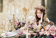 Enchanted fairytale wedding