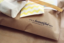 gifts: packaging / by Jerilyn Hassell Pool