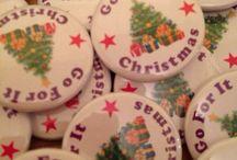 //christmas badges