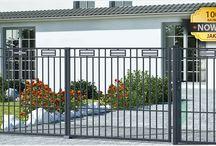 Ogrodzenia nowoczesne / Tablica na temat ogrodzeń w stylu nowoczesnym.