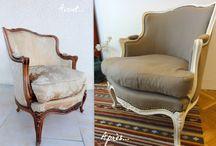 Restauration meuble et fauteuil