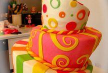 Birthday ideas and cake / Sweet birthday cakes