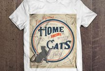 Our Tees Collection! From The Gentlemeows, With Love