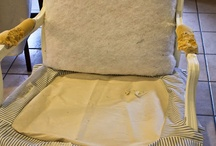 bergere chair redo / by Cindy Stutte
