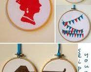Stitchy goodness / Cross stitch delightfulness! / by Allyson Keker