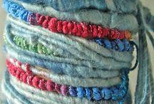 hilos , lanas, cuerdas .......