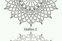 Crochet mandalas pattern