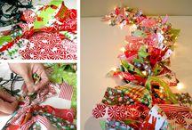 DIY Christmas Decorations - Christmas Crafts / Easy to make Christmas crafts - use them as Christmas decorations or give them away as Christmas gifts. There are even some easy Christmas crafts for kids!