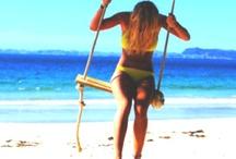 my inner beach bum / by Carly Wood