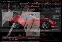 Alfa – Omega servis & WFB Media. Tvorba webových stránek.  Portál služeb. / Tvorba webových stránek.  Tvorba webových prezentací.  SEO. Služby pro dúm, byt, zahradu, auto, zábavu, hobby i volný čas.