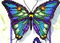 Perler sommerfugle