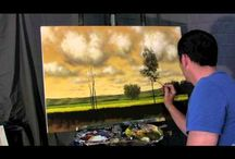 Cloud painting inspirations / by Sharon Whitin