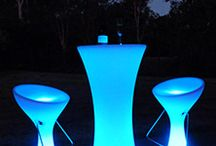 Illuminated Furniture / GoGlow Illuminated furniture creates a dazzling look and style for clubs, restaurants, events or even your own backyard. This innovative range combines a smooth, contemporary design for a stunning effect.    - Enjoy up to 16 colours - Various effects - Static, Fade, Smooth Fade, Strobe or Flash - Weatherproof, can be used inside our out