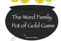 word families / by Stacie VanZandt
