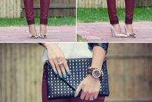 Outfits color vino (guinda)