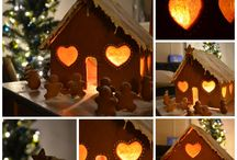 Gingerbread houses / by Katrina Bragg