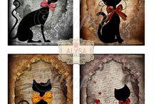 Julia s cat printables