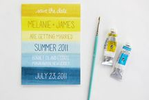 wedding - save the date inspirations / great save-the-dates for weddings & events / by r3mg:: creative boutique