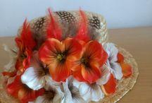 Hats Canotiers Flowers