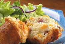 MY YUMMY RECIPES / to nights the first time for these ham muffins, and they were mmm mmm good so quick and easy to make,