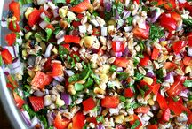 Yummy good for you Salads / by Ginger DiGalbo Katz