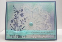 Stampin' Up Hello Doily stamp