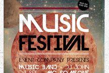 Music & Film Poster Design