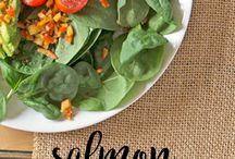 Salmon Recipes / Smoked Salmon, Fresh Salmon - Favorite Salmon Recipes!
