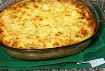 soufle de pollo y queso