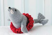 crochet animals / toys