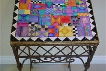 Mosaic tables / Mosaic tables that I would love to make