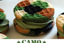 Boy's Camo Birthday Party Ideas / Boy's camo birthday party ideas for food, games, decorations and our suggested camo birthday party invitations