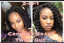 2015 Crochet Wig