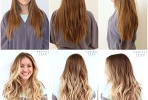 Going Blonde / Ideas for how much blonde, what color blonde, and all things about going from brunette to blonde.