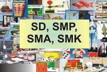 Alat Peraga SD, SMP, SMA, SMK