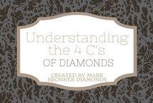 Understanding The 4 C's of Diamonds / Mark Bronner explains the 4 C's of diamonds